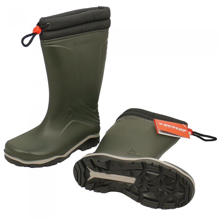 Arbeitskleidung & -schutz Dunlop Winterboot Blizzard Oliv Schuhe & Stiefel